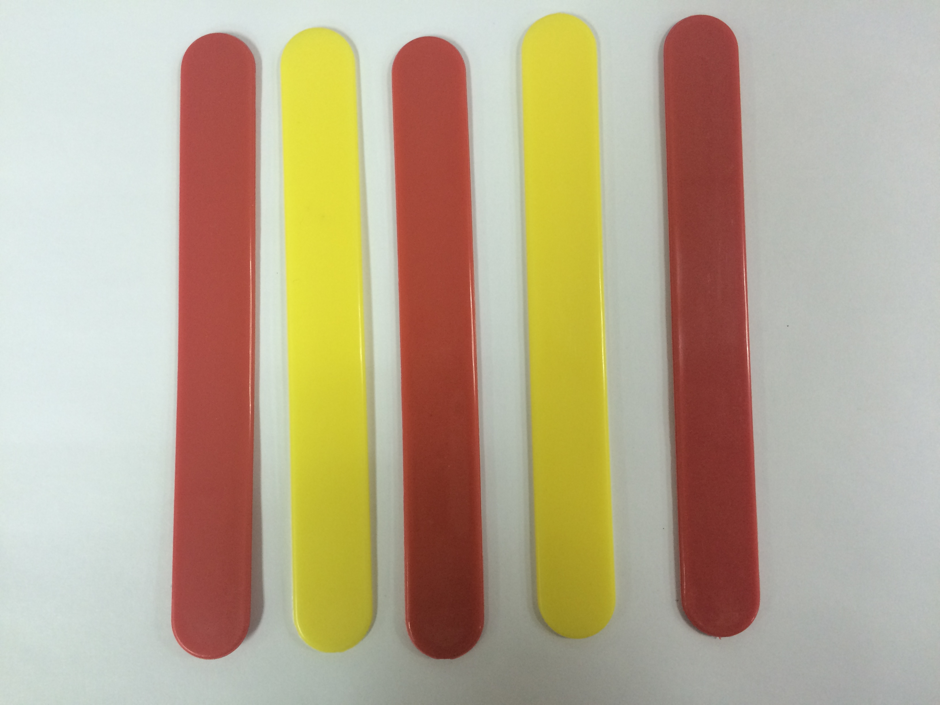 Plastic Ice Cream Stick with beautiful colors, best quality