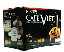 NESCAFER CAFE VIET INSTANT BLACK COFFEE BOX 240G