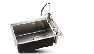 65x43cm SUS304 sigle Bowl stainless steel hand sink