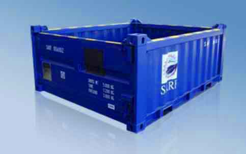 20ft Half Height Opentop Offshore Container(15T)