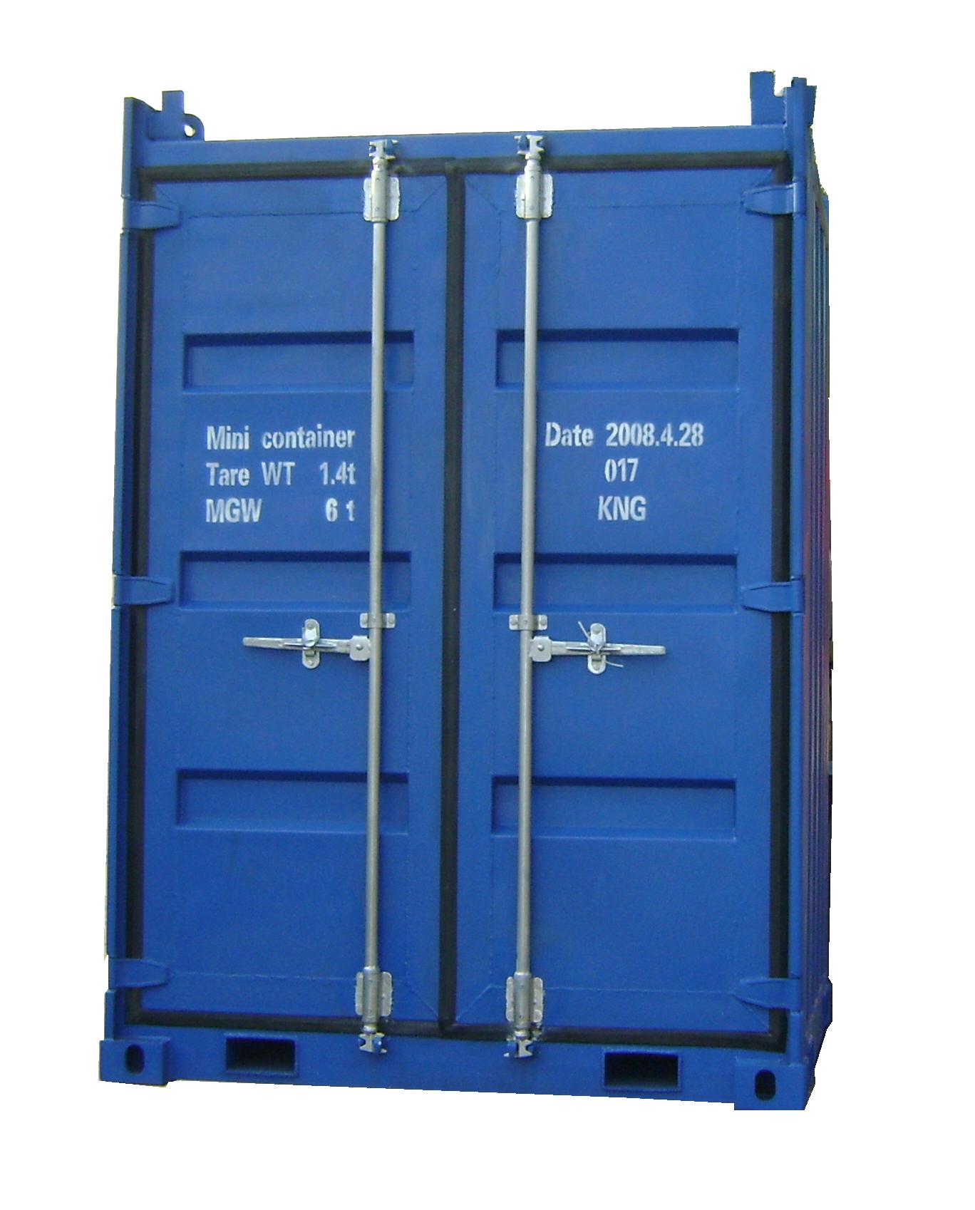 6'X6'X9' Mini Offshore Container (Option:Shelf)