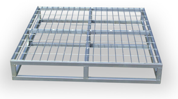 Electro galvanized firm pallet