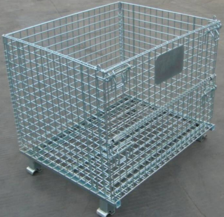 Two sides fold security transportation roll container