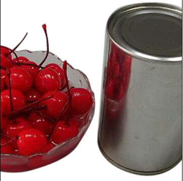 Canned Cherry in Syrup, Packed in 425/820g, 3000 Tins and Jars