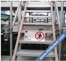 modular stairs, industrial platform