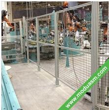 machine guarding partition