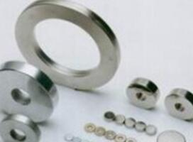 Ring neodymium magnet for magnetic door holder