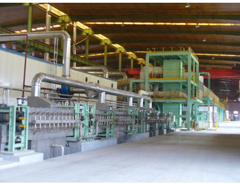 color coated steel sheet production line