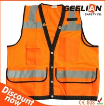 Construction polycotton hi vis safety workwear coverall