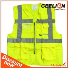 reflective security safety working uniform