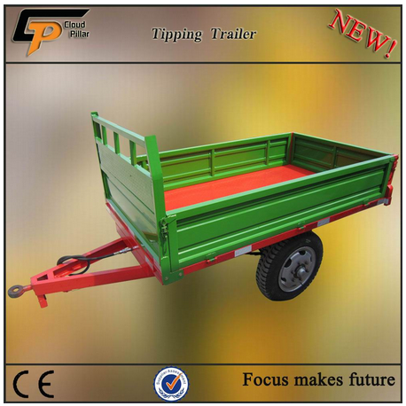 hot sale 7c-1.5 trailer for sale, dump trailer for philippines market