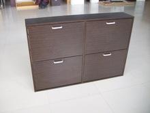 best price wooden shoe cabinet/shoe rack