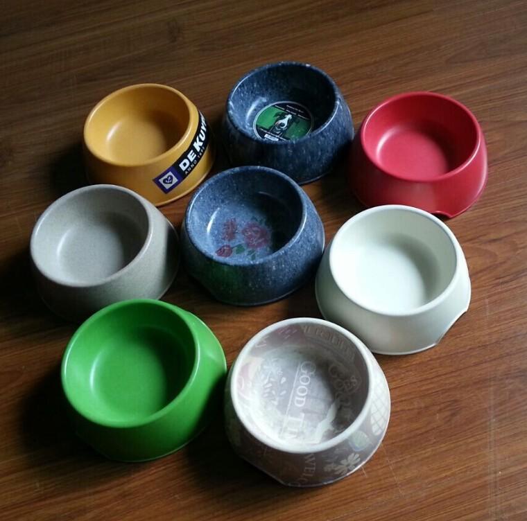 bamboo fiber dog bowl ,biodegradable pet feeders , bamboo dog bowl