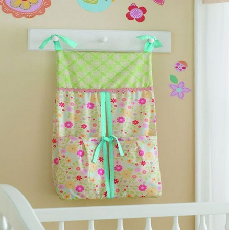 100% cotton baby cot decro nappy stackers