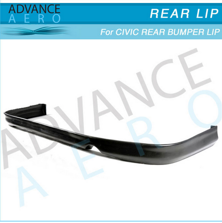FOR 96 97 98 Honda Civic EK 2/4 Door (PU) tr style Urethane Rear Bumper Lip Spoiler Body kit