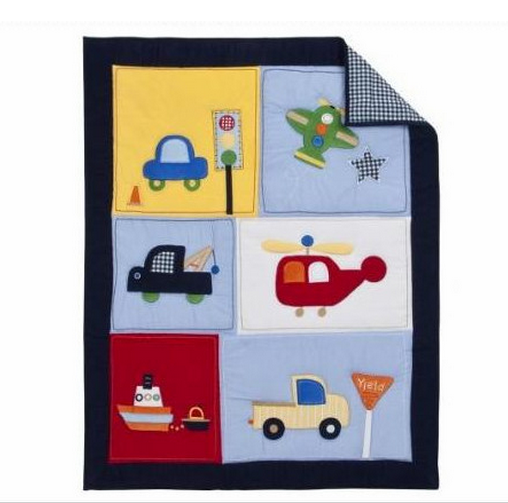 100% cotton new born baby quilts