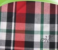 100% Cotton yarn dyed plaid textile shirt fabric on sale