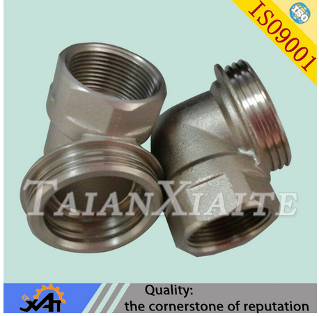 Precision casting qingdao factory pirce high quality fabrication pipe fitting