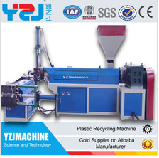 YZJ Trade assurance factory price plastic granules making machine