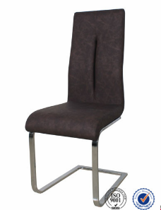 hot sale modern PU leather comfortable dining chair
