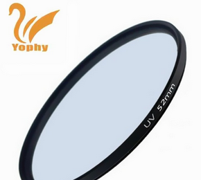 52mm Wholesale Waterproof MRC UV Filter for Camera Lens