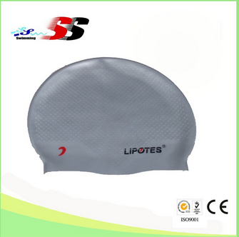Bubble personalized silicone swim caps custom design silicone swim caps