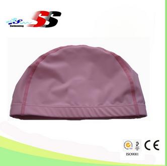 Lovely PU Swimming Caps, Lovely PU Swimming Caps, promotion swim cap