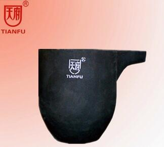 SiC Foundry Crucible For Metal Casting Supply