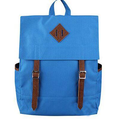 Factory Direct Sale Custom Mens Washed Vintage Canvas Backpack