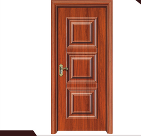 steel wood door template