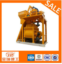 concrete mixer with hopper & lift