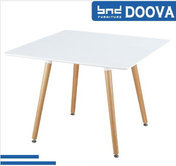 Square table with contract base outdoor square table