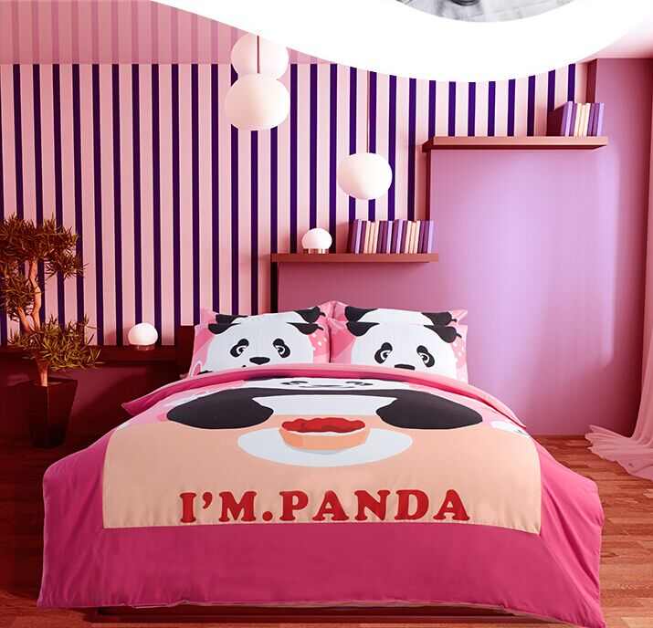 panda bedding set kids from china