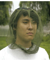 NYLON MOSQUITO NET WITH CAP