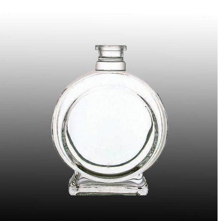 wine bottle clear glass for scotch whisky and vodka China