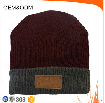 Fashion Design Ladies Winter Beanie Kitted Hat