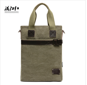 New fashion canvas men Handbag laptop bag
