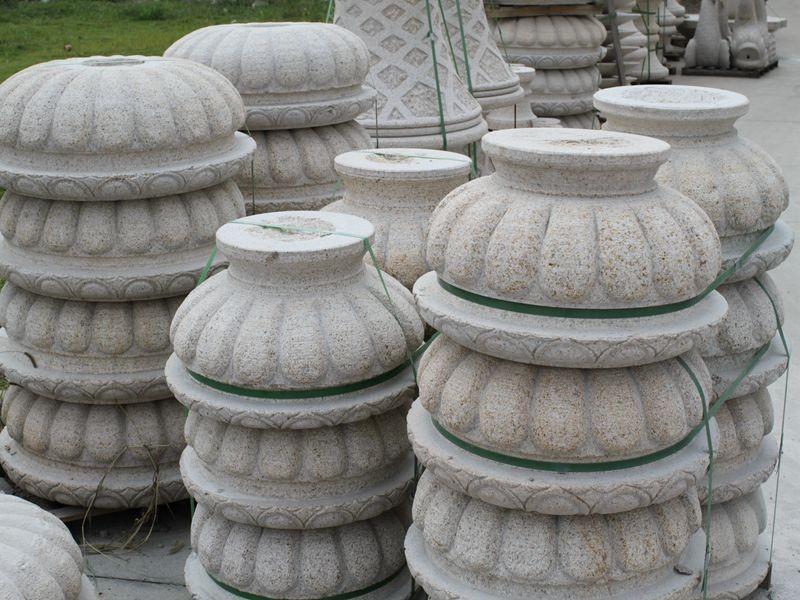 granite flower pots , gradening pots