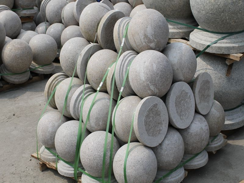 landscaping stone ball granite ball