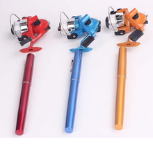 Durable 1m Length High End Colorful Alloy Shell Ultra Hard Carbon Fiber Telescopic Pen Fishing Rod