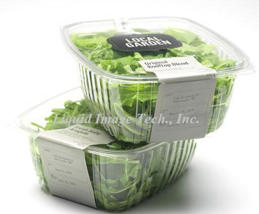 round plastic packaging tray with lid
