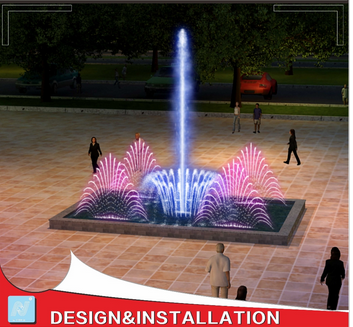 Custom-made Rectangle Small Fountain