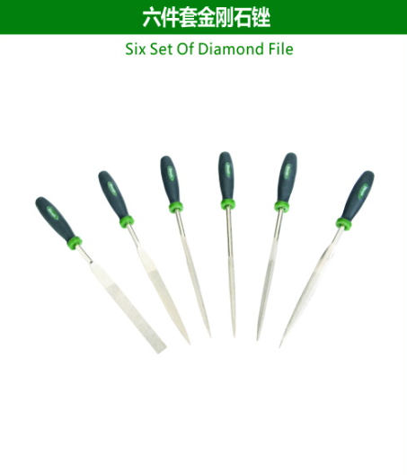 Six Set Of Diamond File