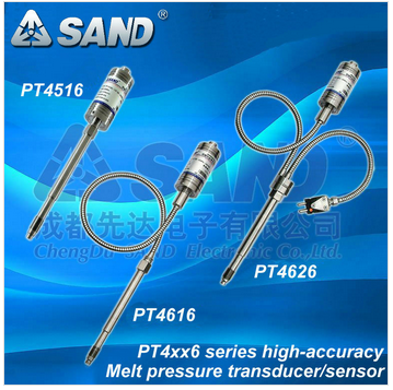 textile machinary melt pressure transducer with display indicator