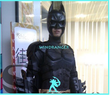 Windranger - Bat man mascot costume
