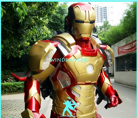 Windranger - Red and gold costume, mark 4 Ironman