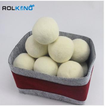 custom color handmade wool felt ball