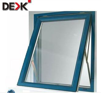 quality single glazed aluminium top hung window with economic price
