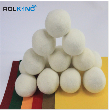 handmade felt ball