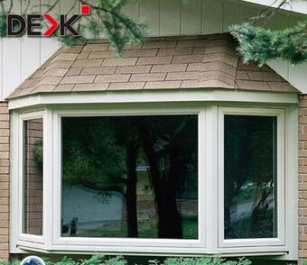 new design Aluminium window, Bow&bay window,villa window